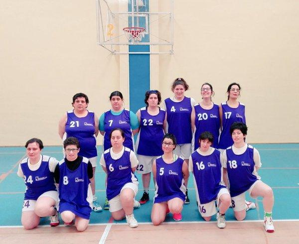 chicas basket