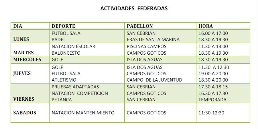 Calendario De Actividades Eventos: Calendario Semanal De Actividades